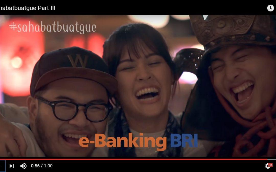 Nampang di Iklan Bank BRI