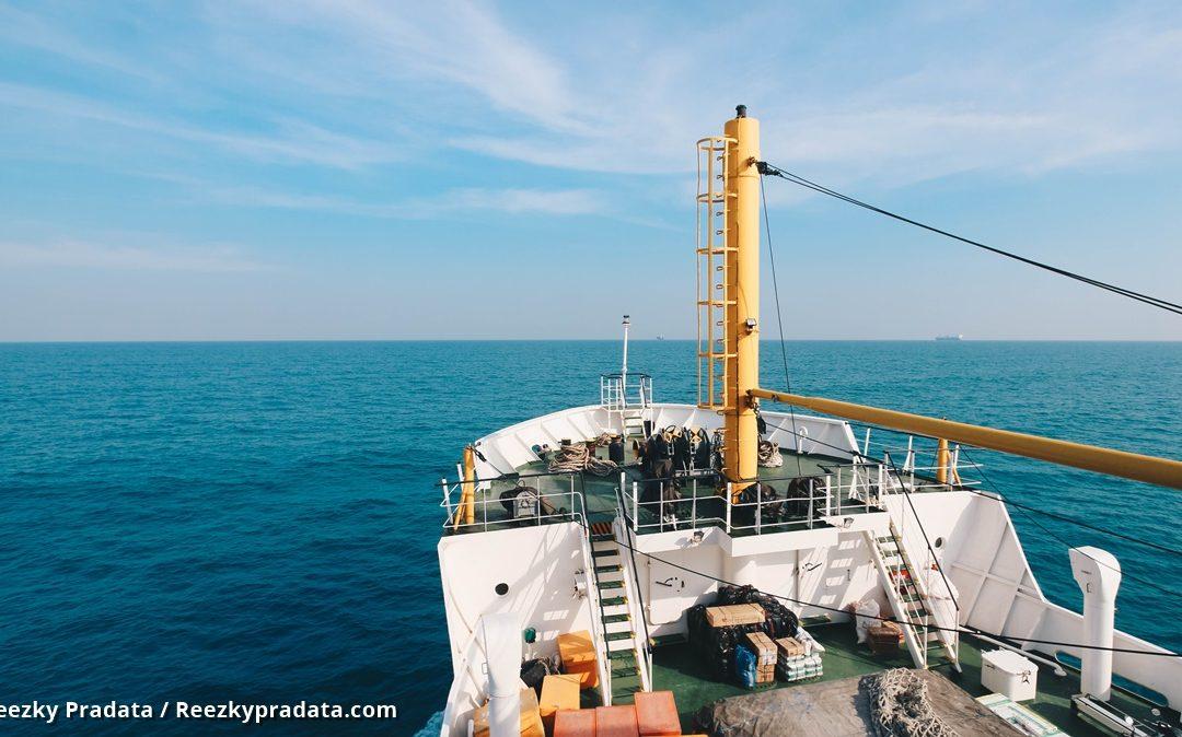 di atas kapal perintis Sabuk Nusantara 57