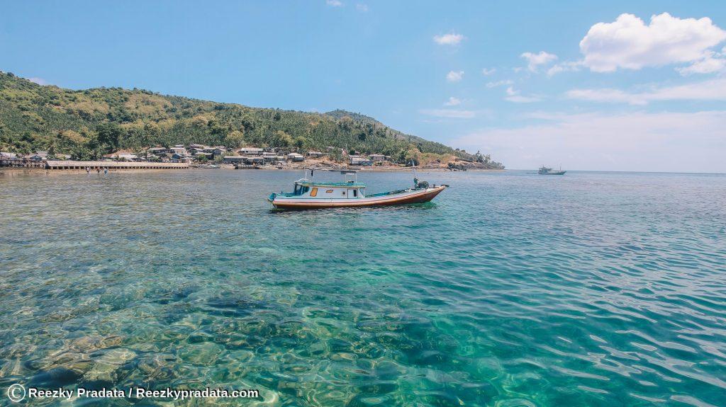 Perairan di Sekitar Pulau Maradapan