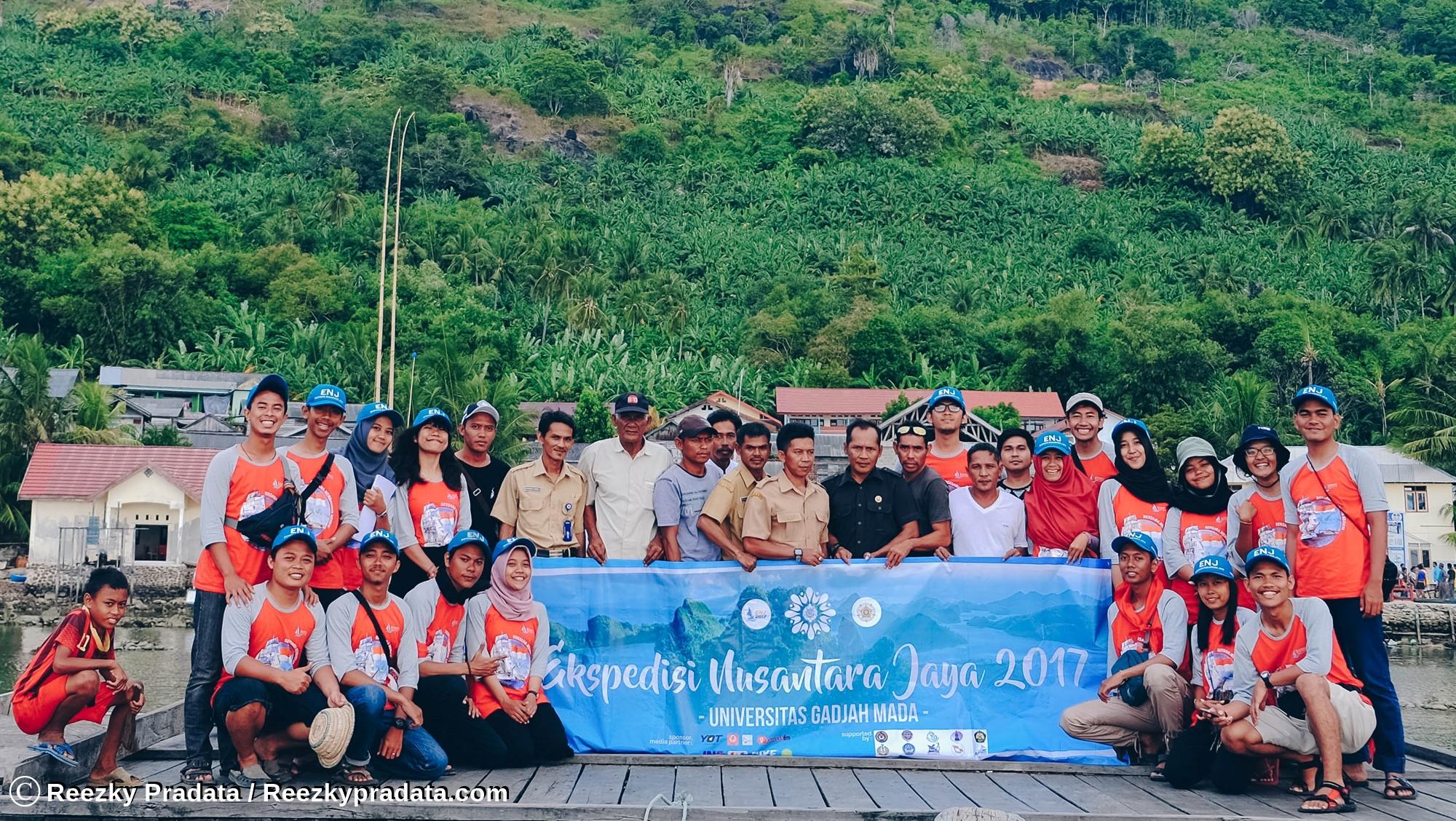 Cerita Ekspedisi Nusantara Jaya 2017 UGM : 3 Hari Nikmati Eksotika Pulau Maradapan