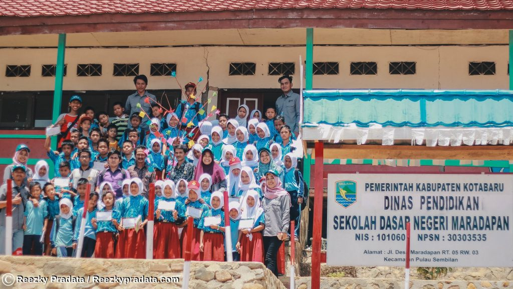 Sekolah dasar negeri Pulau Maradapan