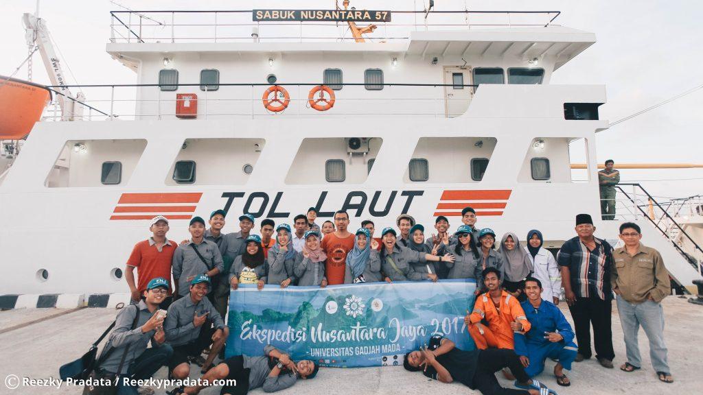 Tim ENJ UGM 2017 dan ABK Kapal Sanus 57