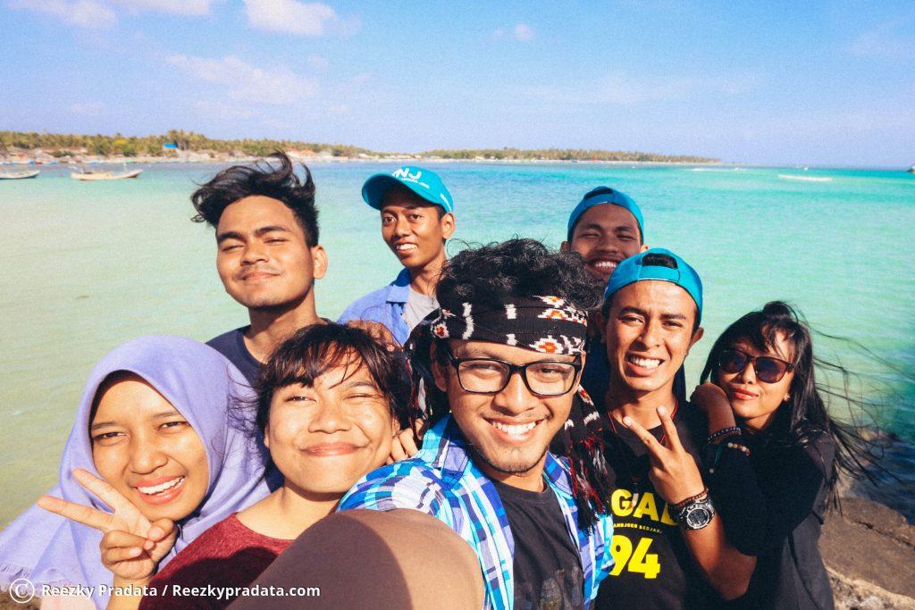 Selfie di Dermaga Pulau Masalembu