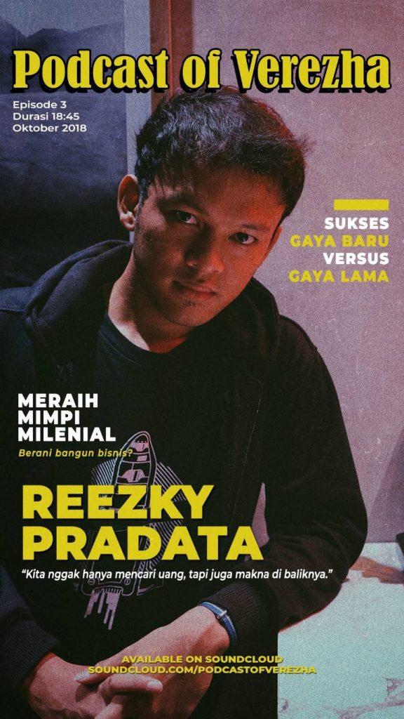 Podcast POV with Reezky Pradata - Meraih Mimpi Milenial