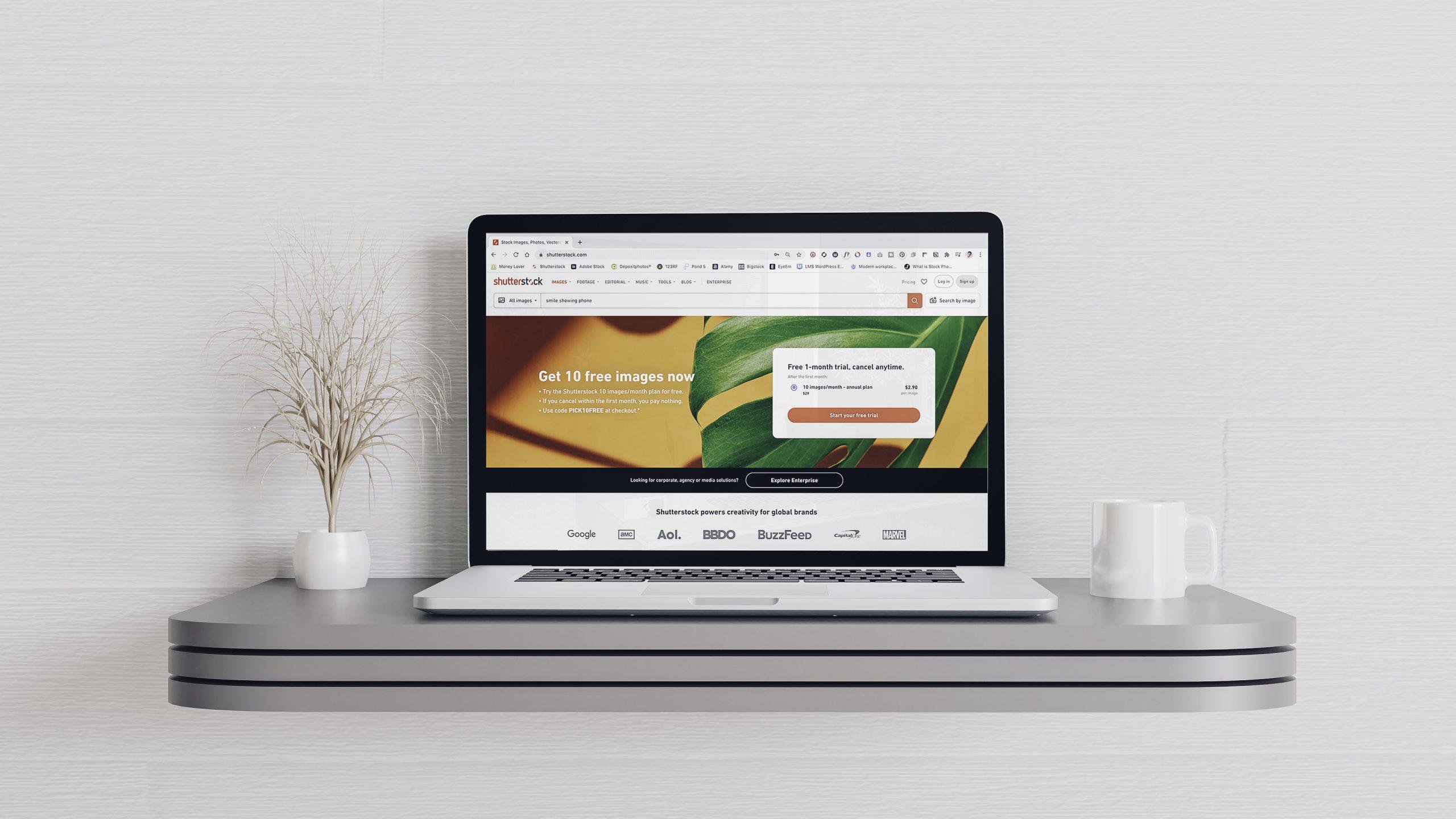 4 Langkah Proses Jualan Stock Foto di Shutterstock